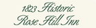 1823 Historic Rose Hill Inn